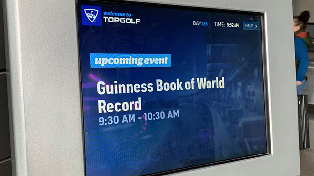 Topgolf Breaks Guiness World Record